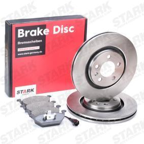8Z0698151A für VW, AUDI, SKODA, SEAT, Bremsensatz, Scheibenbremse STARK (SKBK-1090006) Online-Shop