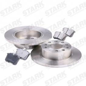 STARK SKBK-1090010 Kit frenos, freno de disco OEM - 1JD698451A SKODA, VW, VAG, MINTEX, SATURN, VW (FAW), VW (SVW), SKODA (SVW) a buen precio
