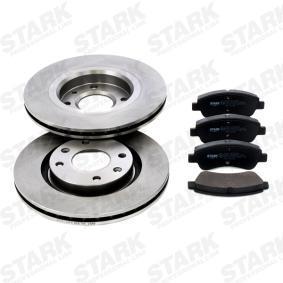 Brake Set, disc brakes STARK Art.No - SKBK-1090013 OEM: 1617282980 for PEUGEOT, CITROЁN, DS buy