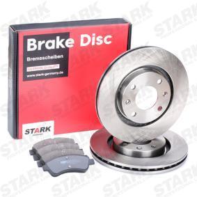 STARK Brake Set, disc brakes 1617282980 for PEUGEOT, CITROЁN, DS acquire