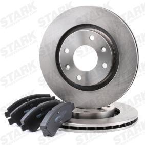 1612293980 for PEUGEOT, CITROЁN, DS, Brake Set, disc brakes STARK (SKBK-1090013) Online Shop