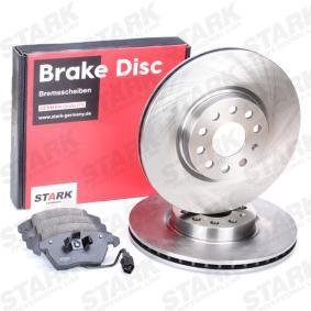 Set frana, frana disc STARK Art.No - SKBK-1090019 OEM: 5Q0615301F pentru VW, AUDI, SKODA, SEAT cumpără