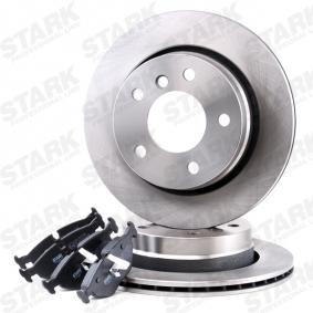 STARK SKBK-1090023 Bremsensatz, Scheibenbremse OEM - S5058110 SAAB, BREMBO, OEMparts günstig