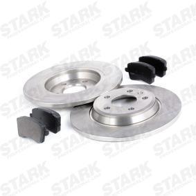 STARK SKBK-1090028 Bremsensatz, Scheibenbremse OEM - 8P0098601P AUDI, HONDA, SEAT, VW, VAG, SATURN günstig