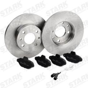 STARK Brake shoes and rotors SKBK-1090041