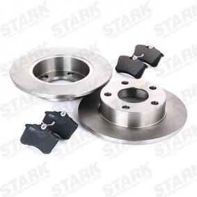 STARK SKBK-1090051 Kit frenos, freno de disco OEM - 1JD698451A SKODA, VW, VAG, MINTEX, SATURN, VW (FAW), VW (SVW), SKODA (SVW) a buen precio