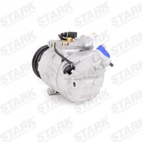 STARK SKKM-0340103 Compresor, aire acondicionado OEM - 4B0260805G AUDI, OM, SEAT, SKODA, VOLVO, VW, VAG, HELLA, DELPHI, BEHR HELLA SERVICE, VEMO, ELECTRO AUTO, CUPRA, Henkel Parts a buen precio