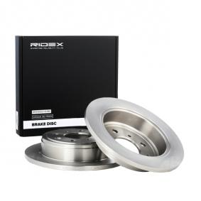 25 Хечбек (RF) RIDEX Спирачен диск 82B0043