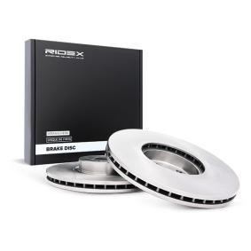 BMW X5 (E70) RIDEX Discos de Freno 82B0370 comprar