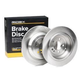M-класа (W164) RIDEX Комплект спирачни дискове 82B0508