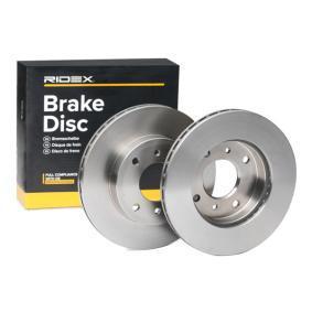 4020671E06 für NISSAN, INFINITI, Bremsscheibe RIDEX (82B0404) Online-Shop