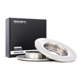 3 (BK) RIDEX Disco de freno 82B0121