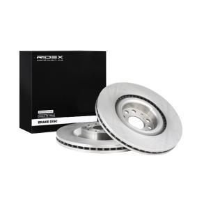 1K0615301AB за VW, AUDI, SKODA, SEAT, Спирачен диск RIDEX (82B0210) Онлайн магазин