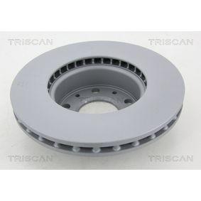 TRISCAN Bremsscheibe 6N0615301D für VW, MERCEDES-BENZ, AUDI, SKODA, SEAT bestellen