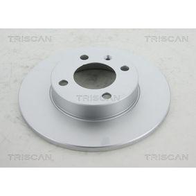 Bremsscheibe TRISCAN Art.No - 8120 10137C OEM: 811615301 für VW, AUDI, FIAT, SKODA, SEAT kaufen