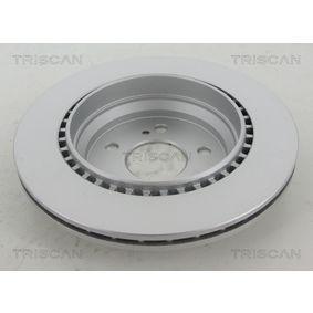 Bremsscheibe TRISCAN Art.No - 8120 23146C OEM: 2204230212 für MERCEDES-BENZ, DAIMLER kaufen