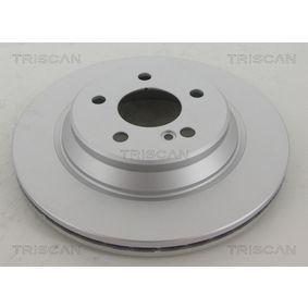 TRISCAN Bremsscheibe 2204230212 für MERCEDES-BENZ, DAIMLER bestellen