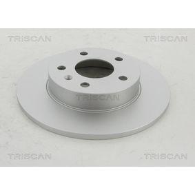 Bremsscheibe TRISCAN Art.No - 8120 24128C OEM: 569109 für OPEL, CHEVROLET, VAUXHALL, HOLDEN kaufen