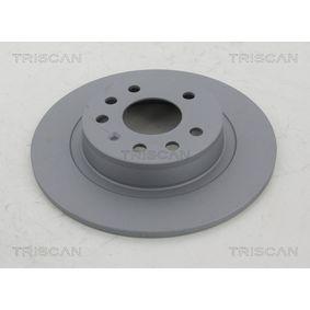 Bremsscheibe TRISCAN Art.No - 8120 24153C OEM: 93184247 für OPEL, DODGE, VAUXHALL, HOLDEN kaufen