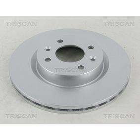 Bremsscheibe TRISCAN Art.No - 8120 25107C OEM: 7701204828 für RENAULT, NISSAN, DACIA, DAEWOO, SANTANA kaufen