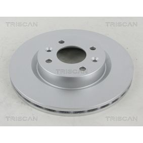Bremsscheibe TRISCAN Art.No - 8120 25107C OEM: 6001548578 für RENAULT, NISSAN, DACIA, DAEWOO, LADA kaufen