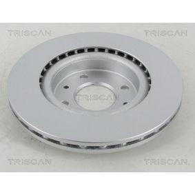 TRISCAN Bremsscheibe 7701204828 für RENAULT, NISSAN, DACIA, DAEWOO, SANTANA bestellen