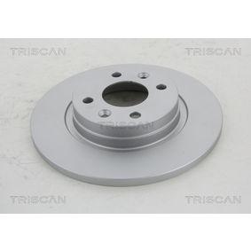 Bremsscheibe TRISCAN Art.No - 8120 25152C OEM: 8200123117 für RENAULT, DACIA, RENAULT TRUCKS kaufen