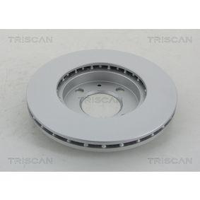 TRISCAN Bremsscheibe 321615301A für VW, AUDI, FORD, SKODA, SEAT bestellen