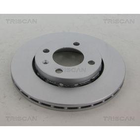 Bremsscheibe TRISCAN Art.No - 8120 29141C OEM: 6N0615301F für VW, AUDI, SKODA, SEAT kaufen