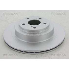 Bremsscheibe TRISCAN Art.No - 8120 68118C OEM: 26700AE080 für SUBARU kaufen