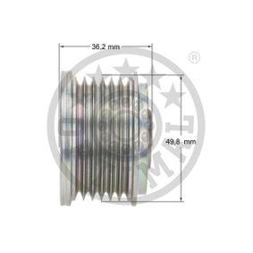 6461500260 für MERCEDES-BENZ, SMART, Generatorfreilauf OPTIMAL (F5-1058) Online-Shop