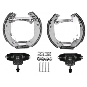 Bremsensatz, Trommelbremse JURID Art.No - 381092J OEM: 867698511AX für VW, AUDI, SKODA, SEAT kaufen