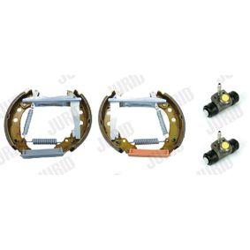 867698511AX für VW, AUDI, SKODA, SEAT, Bremsensatz, Trommelbremse JURID (381092J) Online-Shop