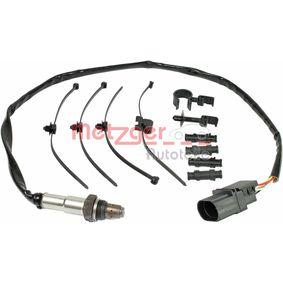 Lambdasonde METZGER Art.No - 0895177 OEM: 077906265N für VW, AUDI, SKODA, SEAT kaufen