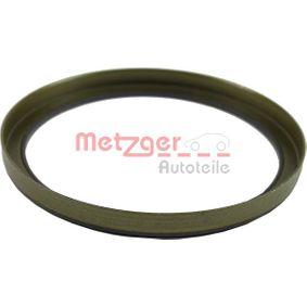 METZGER VW GOLF Сензорен пръстен, abs (0900179)