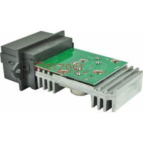 METZGER Widerstand, Innenraumgebläse 7701040562 für RENAULT, DACIA, RENAULT TRUCKS bestellen