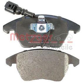 8J0698151C pour VOLKSWAGEN, AUDI, SEAT, SKODA, Kit de plaquettes de frein, frein à disque METZGER (1170007) Boutique en ligne