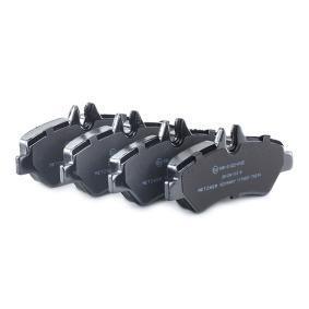 METZGER Bremsbelagsatz, Scheibenbremse 2E0698451 für VW, MERCEDES-BENZ, AUDI, SKODA, SEAT bestellen