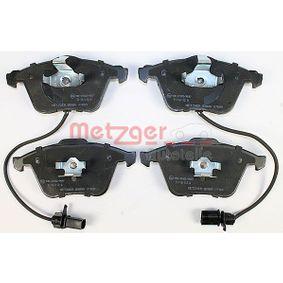 METZGER Bremsbelagsatz, Scheibenbremse 4F0698151D für VW, AUDI, SKODA, SEAT, PORSCHE bestellen