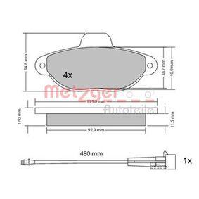 METZGER Filtro recirculación de gases 1170140