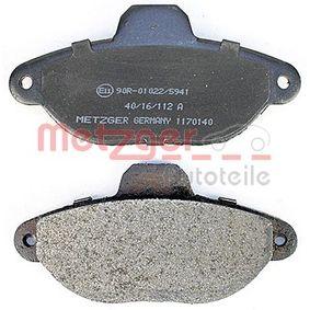 500 (312) METZGER Separador de aceite 1170140
