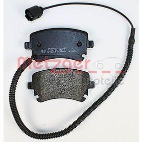 4B3698451A für VW, AUDI, SKODA, SEAT, Bremsbelagsatz, Scheibenbremse METZGER (1170190) Online-Shop