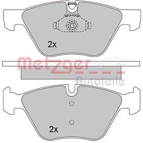 Bremsbelagsatz, Scheibenbremse METZGER Art.No - 1170203 OEM: 34116777772 für BMW, ALPINA kaufen
