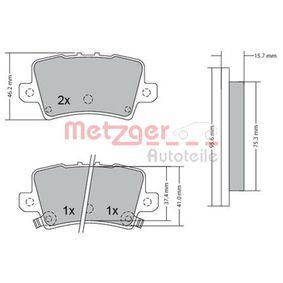 METZGER Motor del limpia 1170288