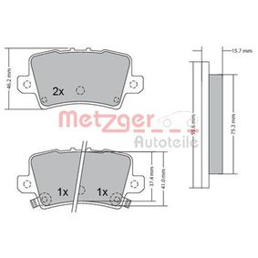 METZGER Motor del limpiaparabrisas 1170288