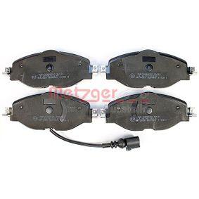 METZGER Kit de plaquettes de frein, frein à disque 8V0698151D pour VOLKSWAGEN, AUDI, SEAT, SKODA acheter