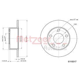 METZGER Achsträger und Fahrschemel 6110017 für AUDI 100 2.5 TDI 115 PS kaufen