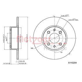 METZGER Cuerpo de mariposa 6110204 para FIAT STILO 1.4 16V 95 CV comprar
