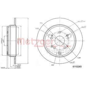 METZGER Motor agua limpiaparabrisas 6110265