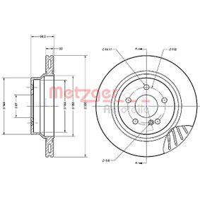 METZGER Spark plug 6110285